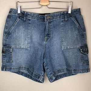 Pants - Denim Shorts in Size 16